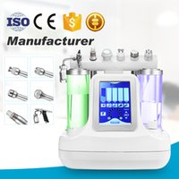 Heiße Selling 6in1 SPA BIO Lifting RF Gesichts Machines Skin Therapy Hydra Peeling Oxygen Spray Gesichtspflege Beauty Equipment