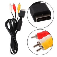 Arrival For PS2AV line N64AV line PS2 extension Cable Audio ...