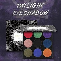 9 Colors Eyeshadow Palette Matte Shimmer Diamond Glitter Foi...