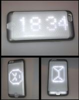 2016 беспроводное приложение Bluetooth DIY LED Light Smart Phone Case для iPhone 6 6s светящаяся светящаяся мигающая крышка настроенная на ваше изображение