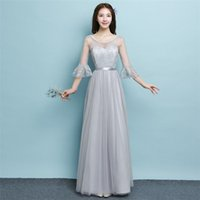 2018 New Long Bridesmaid Dresses Women Wedding Prom Party Co...