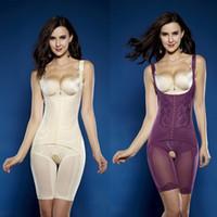 도매 최고의 판매 도매 여름 자기 코르셋 쉐이프웨어 속옷 허리 훈련 코르셋 바디 수트 여성 거들 몸 셰이퍼 A001