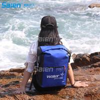 Sacos ao ar livre 25L - mochila seca é garantida à prova d'água / desgaste como uma impermeável mochilas ou sobre o ombro para caiaque, caminhadas