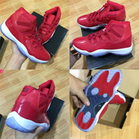 2017 gym red Basketball Shoes for Men high quality 11s Outdo...