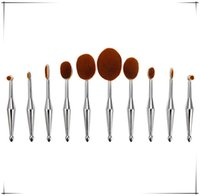 Newest Fish Beauty Makeup Brush Cosmetic 10pcs each set Toot...