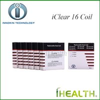 Innokin iClear 16 Dual Coil Replacement Dual Heating Coil Head for iClear 16 Clearomizer 100% Original 1.5ohm 1.8ohm 2.1ohm
