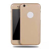 Las cajas del teléfono celular de alta calidad PC colorida 360 grados protegen las cajas del teléfono celular el diseño elegante para Iphone