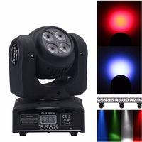 Erweiterte dj Lichter Kopf geführt Wasch Mini 15 / 21CH Kanäle rgbw Quad mit 8 LED erweiterte Kanäle bewegt
