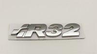 3d المعادن كروم r32 r36 شعار شارة ملصق سيارة شعار التمهيد الخلفي جذع مائي ل vwvw