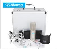 Yeni Alctron CM6MKII Profesyonel Kondenser Kablolu Mikrofon Mikrofon Kayıt Stüdyosu KTV Karaoke için Ses Stüdyosu ile Şok Dağı