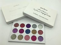 Unicorn Glitter glamierre palette eyeshadow 15 couleurs maquillage ultra pigmenté Glitter Shadows Shimmer eye shadow Palette cosmétiques