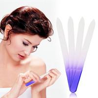 Archivo de uñas Durable Cristal de cristal Buffer Nail Art Manicure Device Pro Herramienta GUB