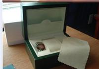 Relógio caixas dos homens para homens Relógios Caixas Papers Watch Box Original Mulher Outer de madeira Inner