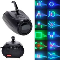 Portable Music Auto / Sound Active 64 LED RGBW Luci Laser Effetto Stage Lighting Discoteca Club DJ Party Bar KTV Wedding Lights