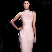 Turtleneck Evening Dress