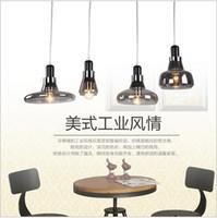 Loft Pendentif En Verre Light Smoke Gris Edison Luminaire Suspendu Pour Cuisine Bar Salon E27 bocci Droplights