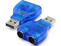 Горячая продажа USB-конвертер для продажи на PS2 Женский удлинитель Y-Splitter Plug Adapter 1 Мужской до 2-х лет для ПК-клавиатуры