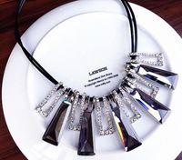 Lüks kristal parlak kısa paragraf kazak zincir köprücük kemiği zincir kolye klavikula zinciri kadın aksesuarları kolye kolye