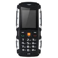 IP68 a prueba de agua AGM M1Tri-proof teléfono 2.0inch 2570mAh 2.0MP cámara frontal teléfono móvil 64MB + 128MB tarjeta SIM Dual a prueba de polvo teléfono móvil venta caliente