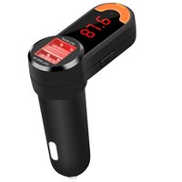 Universal FM Transmitter Wireless Bluetooth In Car Charger C...