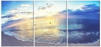 TIJIAHE Modern Print Canvas Painting Art sea 3 Piece Canvas ...