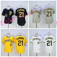 reputable site 9015c 8139c pittsburgh pirates 21 roberto clemente 1960 cream vest ...