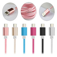 1M 3FT 1.5M 5FT USB 3.1 Type C Cable Strong Nylon Braided Type-C Data Sync Charger Cable For Nexus 5x LG G5 Huawei p9 Xiaomi mi4c mi5 mi4s