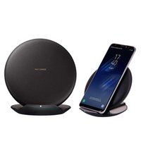 QI Fast Wireless Charging Pad Dock Stand Charger Fast Charge...