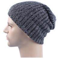 مزيج ألوان الشتاء عارضة القطن حك القبعات للرجال فضفاض قبعة صغيرة قبعة الكروشيه مترهل المتضخم تزلج قبعة دافئة JF-11