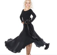 2018 Custom Made Ballroom Dance Dress Lady Dancewear Ballroom Standard Dance Women Viennese Waltz Dress Dancewear Dance Dress