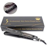 Оригинал KangRoad выпрямитель волос профессиональный волос железа салон паровой Стайлер утюги с CE Rosh DHL доставка