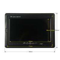 Wholesale- 7 Inch Color TFT LCD DC 12V Car Monitor Rear View ...