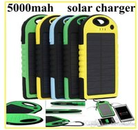 5000mAh Solar Charger And Battery Solar Panel Portable Power...