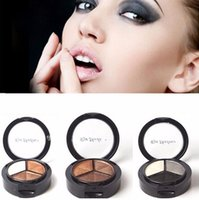 Makeup Naked Eyeshadow Palette 3 Colors Smoky Cosmetic Set P...
