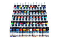Wholesale New Tattoo Ink Fusion 60 Colors Set 1 oz 30ml Bott...