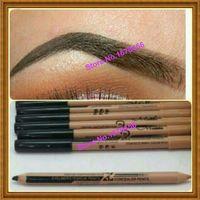 Wholesale-48pcs / lot maquiagem eye brow menow trucco doppia funzione matite per sopracciglia matite concealer maquillaje