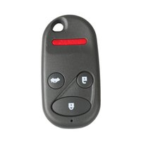 4Buttons Car Flip Replacement Keyless Remote Fob Key Shell Case для HONDA CRV S2000 Insight Prelude Key Shell Refit Бесплатная доставка