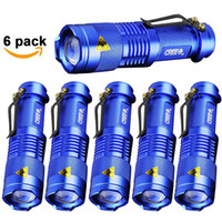 6pcs Pack Flashliight 2000LM Q5 LED Camping Flashlight Torch...