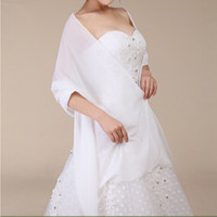 Venda quente design simples casamento wrap nupcial xale costume de boa qualidade elegante senhoras chiffon xale preço