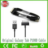 """الأصلي USB بيانات كابل الشحن لسامسونج جالاكسي تاب 10.1 """"8.9"""" بوصة GT N8000 P7510 P7500 P6200 P1000 P3100 شحن مجاني"""