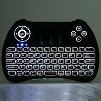 Wireless Backlit Keyboard H9 Fly Air Mouse Multi- Media Remot...