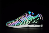 The chameleon men' s and women' s shoes ZX FLUX XENO...