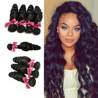 Brazilian Hair Loose wave Weaves 7A High Quality Virgin Huma...