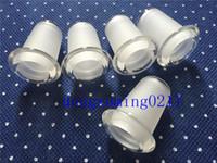 Bong downpipe reductor adaptador 18mm hembra junta en línea 14mm para vidrio agua tubería vidrio bong hembra jiont vidrio bong conjunta