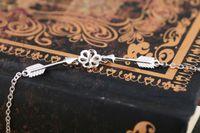 Echte Sterling Silber 925 Perle oder Runde Bead 7-10mm Semi Mount Elegante feine Armband edlen Schmuck
