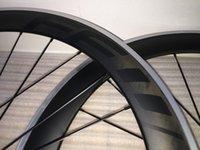 60mm FFWD F6r BOB black logo carbon road bicycle wheels 60mm carbon wheels with hubs+spokes+skewers bike wheelset with powerway R36