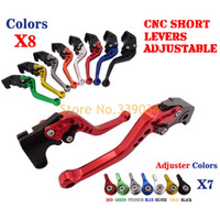 Wholesale- CNC Short Brake Clutch Levers For Yamaha FZ1 FAZER...