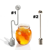 6 inch Honey Dipper Stick 304 Stainless Steel Best Swizzle S...