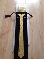 Moda erkekler için ücretsiz kargo Lüks kravat seti, damat, düğün evenet ve kulübü gösterisi