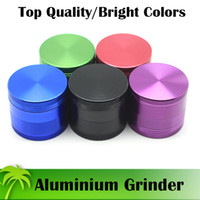 Wholesale Aluminium Grinders 50mm 55mm Grinder 4 Parts Tobac...